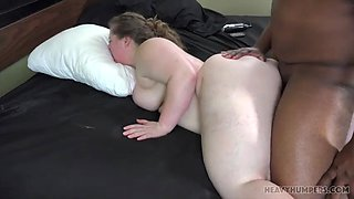 Milk chubby girl fucked for bbc and toy
