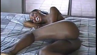 Pretty African Milf fucked by white man