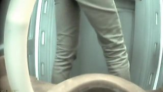 Dixi Bio Toilet, Simple Dry, Older Spy Mix, Hidden Camera