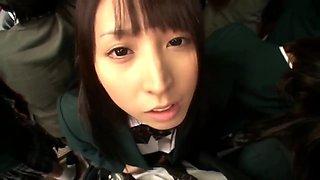 Yuuki Itano In School Bus Sex 01
