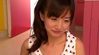 Fabulous Japanese girl in Hottest JAV censored Swallow, Hairy video