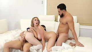 Skylar Vox & Horny Bff After School Orgy & Cum Swapping