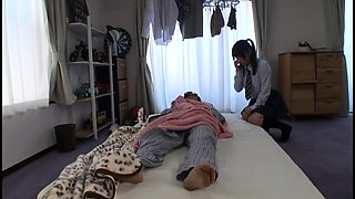 Naughty Asian schoolgirl seduces a guy to fulfill her needs