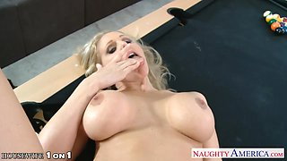 Buxom MILF Julia Ann can ride some dick and she is so freaking insatiable