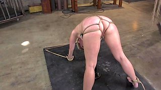 Great cock lover Lisey Sweet does BDSM job to Derrick Pierce