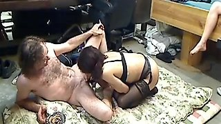 Do we have father, mother and daughter incest video here?