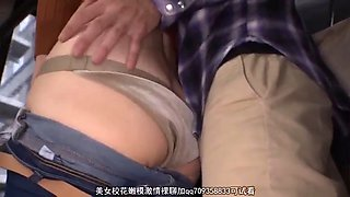 Sexy Japanese MILF Molested &amp Fucked Hard on Bus