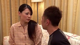 Hottest Japanese model Natsumi Mitsu in Best Threesomes, Close-up JAV clip