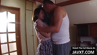 Asian teen alone with father in law