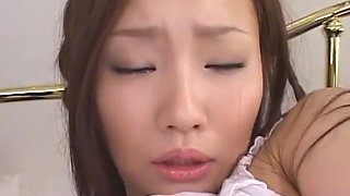 Exotic Japanese girl Rika Aiuchi in Hottest Swallow/Gokkun, Blowjob/Fera JAV video