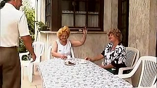 Excited German grannies getting dicked inexperienced
