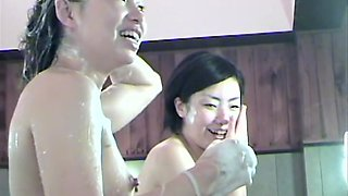 Asian girls showering bodies in the shower spy cam video dvd 03006