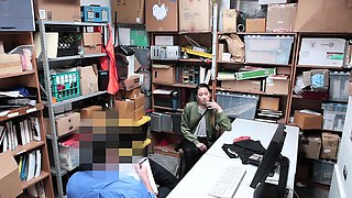ShoplyfTer- Asian Cutie Busted For Stealing