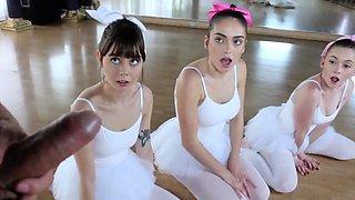 Teen squirt Ballerinas