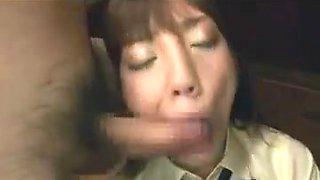 Cute japanese blowbang cum swallowing (rei mizuna)
