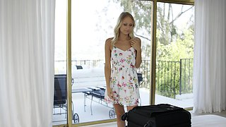 Petite Blonde Cheats with BBC