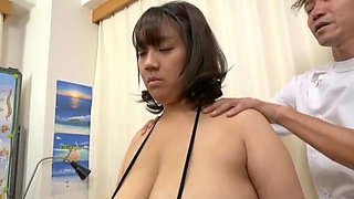 Japanese cutie and lascivious doctor