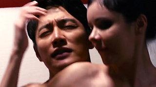 AMWF La Risa Russian Woman Baek Da Eun Park Ju Hee Korean Woman Cheating Her Police Boyfriend Interracial Threesome Sex Korean M