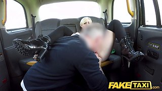 Fake Taxi Hot posh student tries anal fucking with horny big dick cabbie