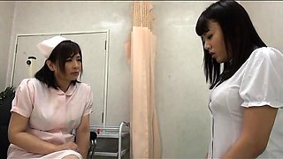 Lustful and lonely Japanese babes give lesbian sex a try