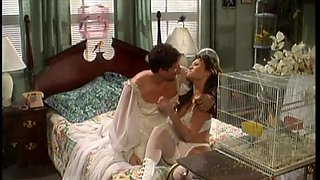 Horny bride is fucked silly by her husband in vintage video