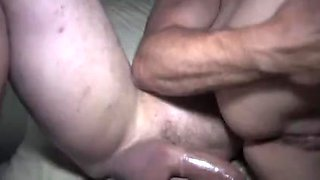 Lustful college party turns into a nasty orgy