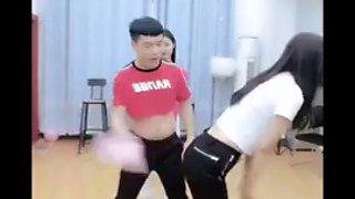 Chinese spanking show