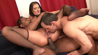 I love to see my wife fucked by a Black Stallion....