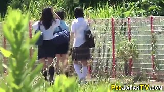 Japanese Students Are Peeing In Uniforms
