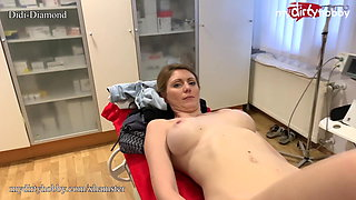 MyDirtyHobby - Doctor fucks busty patient during check-up