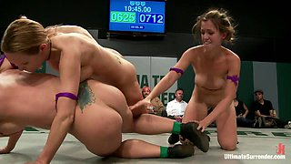 5 Girl Lesbian Mass Orgy  Fuck Fest. Brutal Rough Sex, Fisting, Squirting, All In Front Of A Crowd. - Publicdisgrace