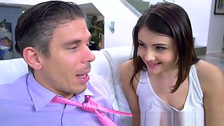 Brazzers - Teens Like It Big - Adria Rae Mick Blue - Daddy K