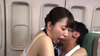 Kanae Renon And Kurata Mao In Pussy Airlines 9 A Creampie Flight