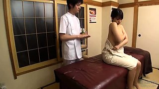 Japanese oil massage orgasm big boobs