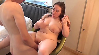 Beautiful Chubby college girl