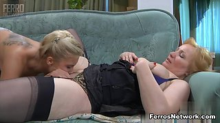 GirlsForMatures Video: Flo and Virginia