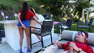 Daddy can i have car first time Family Fourth Of July