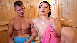 LETSDOEIT - I Finally Fucked My Hot Step Sister In The Sauna