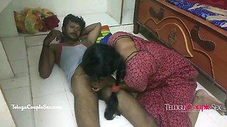 telugu village couple late night fucking with sexy desi wife