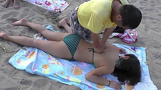 Amazing amateur Beach, Voyeur porn movie