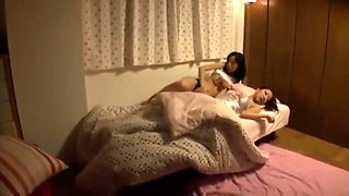 Asian lesbian is getting advantage from drunk sister