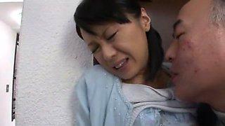 Amazing Japanese girl Maki Amemiya in Crazy Cunnilingus, Wife JAV clip