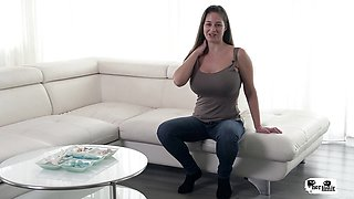 HER LIMIT - Rough interracial anal for Hungarian babe