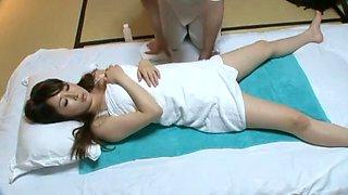 Amazing Japanese model Reia Miyasaki, Noriko Kawamura, Yuki Sakurai in Horny Blowjob, Massage JAV clip