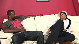 Emo guy gets gangbanged by black cocks