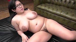 Plump Japanese Lady get fucked behind bars