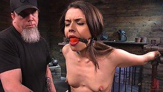 Ultimate BDSM porn featuring submissive babe Vanessa Vega