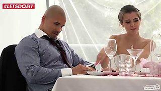 Letsdoeit bride gets banged by step son at her wedding