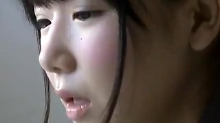 innocent and wet asian schoolgirl seduces older man