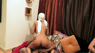 School girl group xxx Hot arab gals attempt foursome
